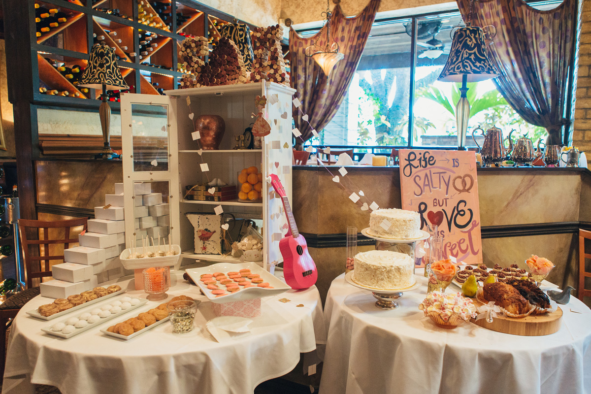 Decoration At Restaurant : Bridal shower decorations at restaurant single hand