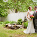 Elegant Garden Bridal Portrait at Ann Norton Sculpture Garden in Palm Beach, FL thumbnail