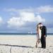 Gorgeous Bridal Portrait on the Beach at Villas Mar Azure in Ponce, PR thumbnail