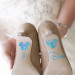 Fun Mickey Mouse Wedding Shoe Decals at Villas Mar Azure in Ponce, PR thumbnail