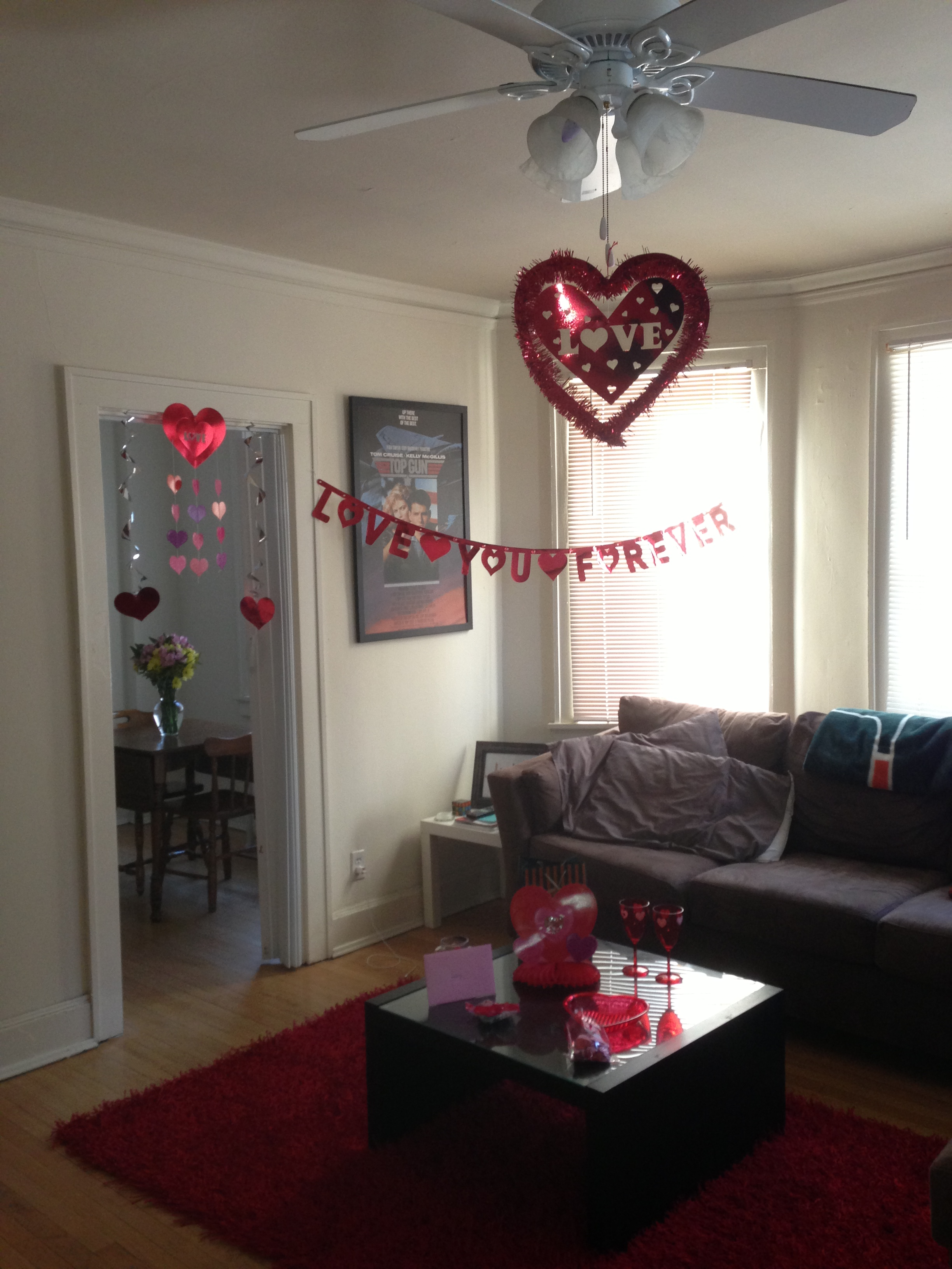 Valentines day decorations the majestic vision - Valentine day room decoration ...