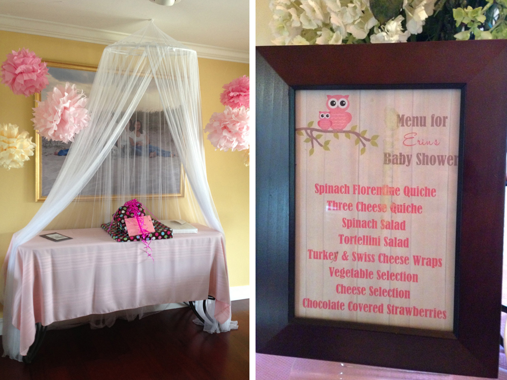 Rustic Pink and Yellow Baby Shower |The Majestic Vision Wedding Planning | Palm Beach, FL | www.themajesticvision.com