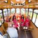 Classic Blue Trolley for the Bridal Party at Palm Beach Shores Community Center in Palm Beach, FL thumbnail