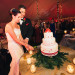 Elegant Christmas Themed Wedding with Love Bird Wedding Cake at Fairchild Tropical Garden in Coral Gables, FL thumbnail