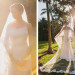 Stunning Cathedral Length Bridal Veil at Fairchild Tropical Garden in Coral Gables, FL thumbnail