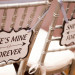 Elegant Silver and White Wedding Reception Chair Signs at Harriet Himmel Theater in Palm Beach, FL thumbnail