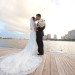 Stunning Intracoastal Bridal Portrait at Harriet Himmel Theater in Palm Beach, FL thumbnail
