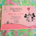 Pink and Green Disney Side Party Invitation in Palm Beach, FL thumbnail