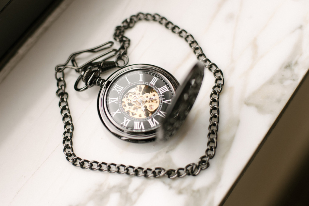 Vintage Pocket Watch for Groom Gift | The Majestic Vision Wedding Planning | The Addison Boca in Palm Beach, FL | www.themajesticvision.com | Starfish Studios