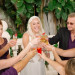 Post-Ceremony Bridal Party Toast at The Addison Boca in Palm Beach, FL thumbnail