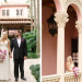 Elegant Bridal Portrait with Stunning Cascade Bridal Bouquet with Purple Orchids and White Lillies at The Addison Boca in Palm Beach, FL thumbnail