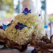 Elegant Blue and White Orchid Centerpiece at Hilton Singer Island in Palm Beach, FL thumbnail