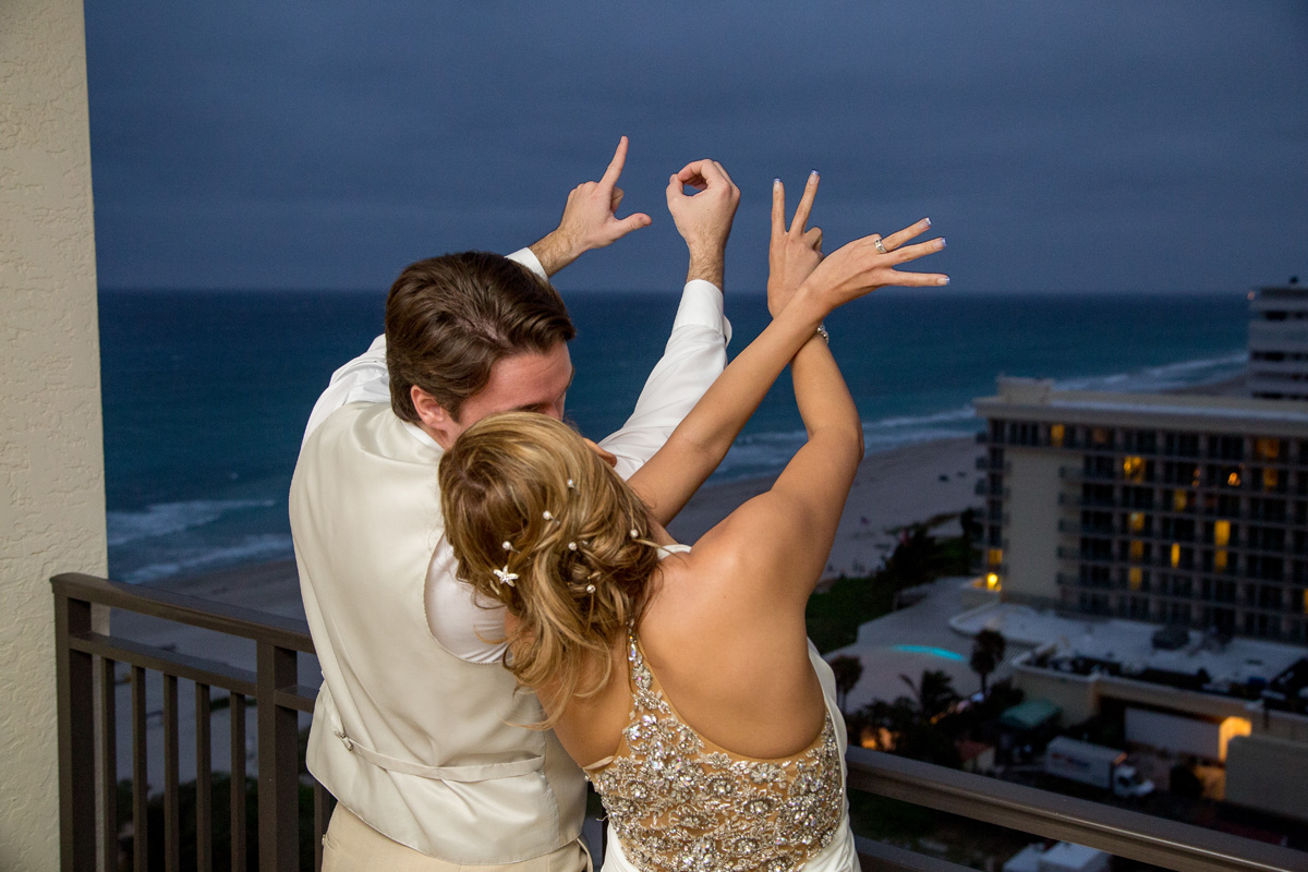 Elegant Wedding Reception   The Majestic Vision Wedding Planning   Hilton Singer Island in Palm Beach, FL   www.themajesticvision.com   Michael Sterling Photography