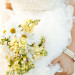 Romantic White and Yellow Daisy Bridal Bouquet at International Polo Club in Palm Beach, FL thumbnail