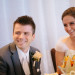 Bride and Groom Enjoying Toasts at Marriott Singer Island in Palm Beach, FL thumbnail