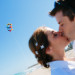 Fun Bridal Portrait on the Beach while Flying a Kite at Marriott Singer Island in Palm Beach, FL thumbnail