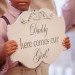 Elegant Ring Bearer Sign at Sailfish Marina in Palm Beach, FL thumbnail