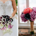 Elegant Cascading Ombre Bridal Bouquet with Purple Calla Lillies and White Calla Lilles at Sailfish Marina in Palm Beach, FL thumbnail