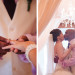 Elegant Purple and Coral Wedding Ceremony at Sailfish Marina in Palm Beach, FL thumbnail