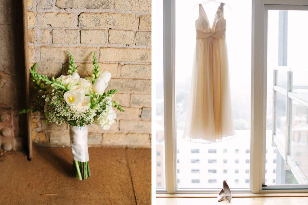 Elegant Anne Barge Wedding Dress | The Majestic Vision Wedding Planning | Pritzlaff Building in Milwaukee, WI | www.themajesticvision.com | Lisa Mathewson Photography
