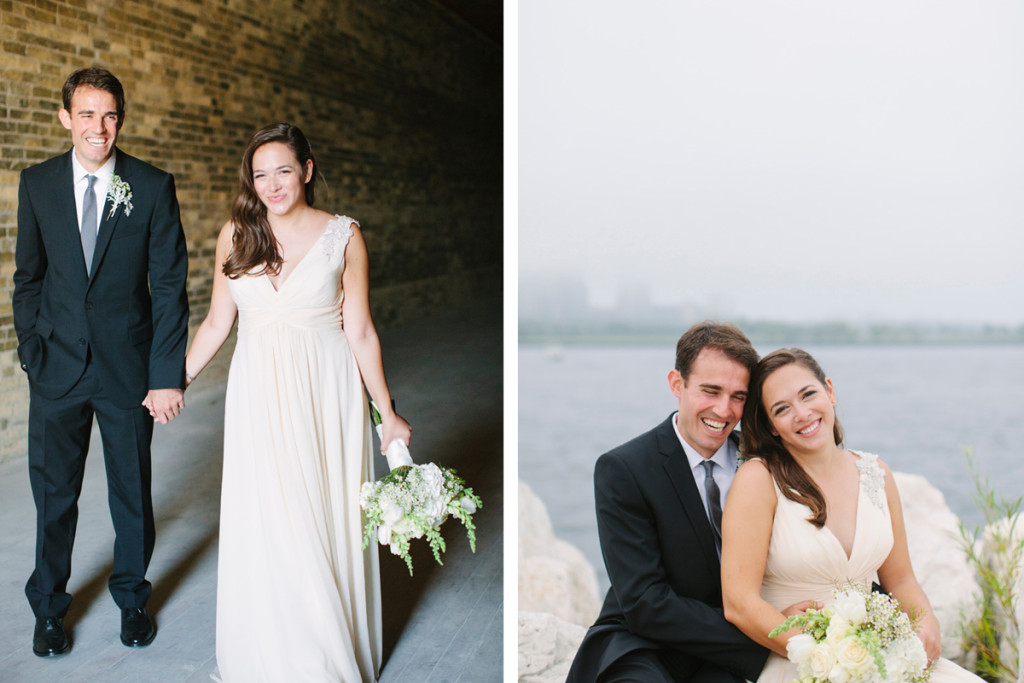 Elegant Bridal Portrait with Milwaukee Art Museum Background | The Majestic Vision Wedding Planning | Pritzlaff Building in Milwaukee, WI | www.themajesticvision.com | Lisa Mathewson Photography