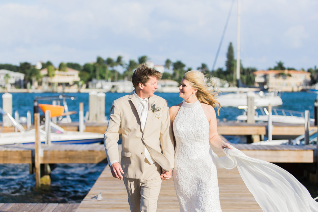 Elegant Waterfront Wedding | The Majestic Vision Wedding Planning | Sailfish Marina in Palm Beach, FL | www.themajesticvision.com | Chris Kruger Photography