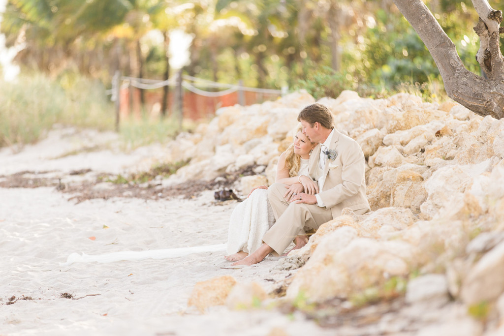 Stunning Bridal Portrait on the Beach | The Majestic Vision Wedding Planning | Sailfish Marina in Palm Beach, FL | www.themajesticvision.com | Chris Kruger Photography