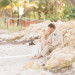 Stunning Bridal Portrait on the Beach at Sailfish Marina in Palm Beach, FL thumbnail