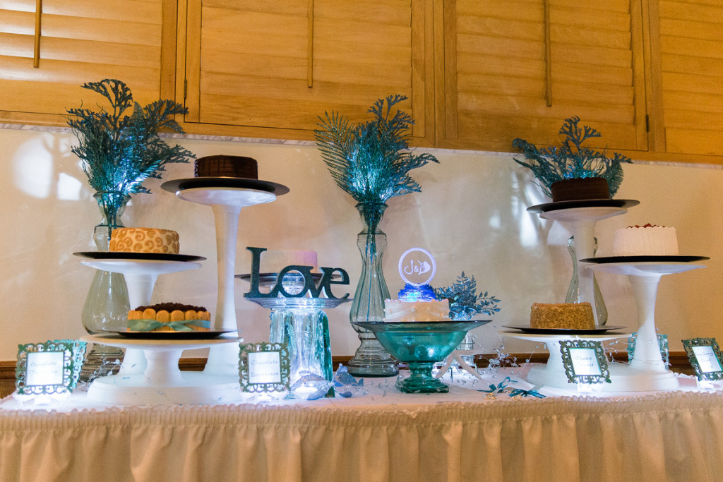 Elegant Dessert Display | The Majestic Vision Wedding Planning | Sailfish Marina in Palm Beach, FL | www.themajesticvision.com | Chris Kruger Photography