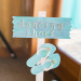 Adorable Sign for Flip Flop Guest Favor at Sailfish Marina in Palm Beach, FL thumbnail