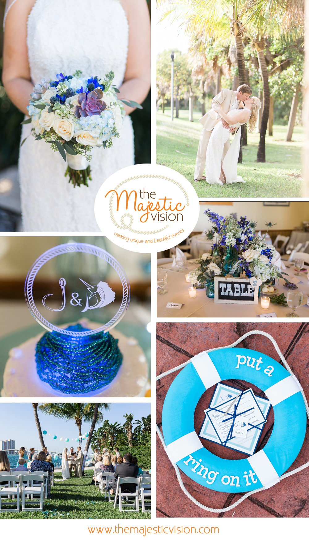 Sailfish Marina Wedding - The Majestic Vision
