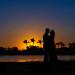 Elegant Sunset Bridal Portrait at PGA National in Palm Beach, FL thumbnail