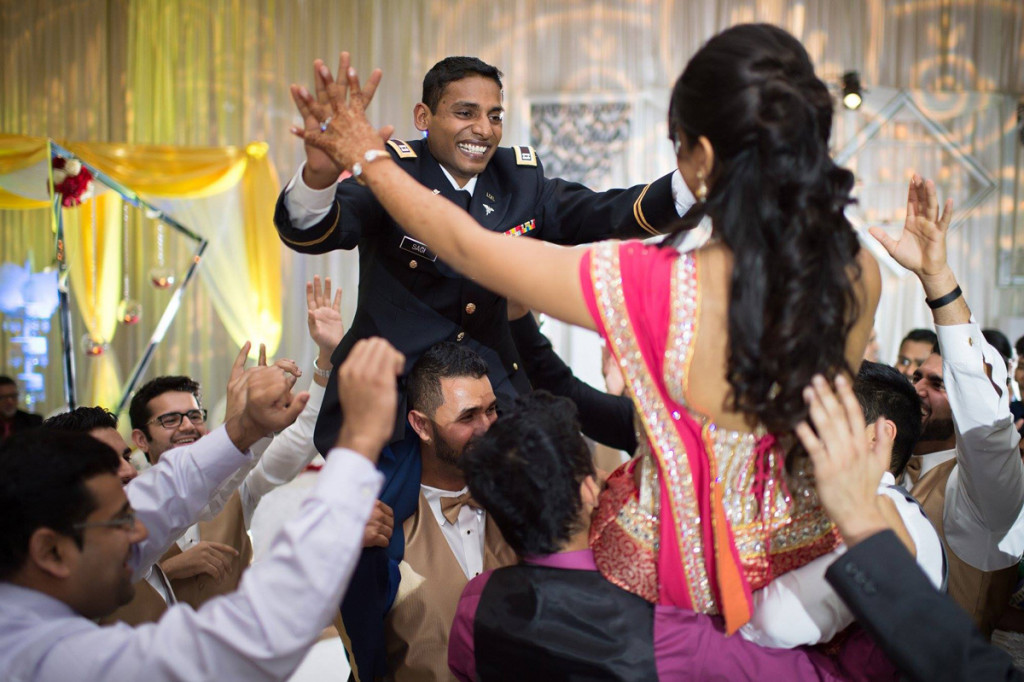 Energetic Bridal Party Dance for Indian Wedding Reception | The Majestic Vision Wedding Planning | PGA National in Palm Beach, FL | www.themajesticvision.com | Haring Photography