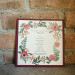 Elegant Marsala Wedding Ceremony Program at Anodyne Coffee in Milwaukee, WI thumbnail