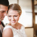 Stunning Bride with Jaxie Bridal Headband at Anodyne Coffee in Milwaukee, WI thumbnail