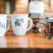 Elegant Coffee Shop Wedding Personalized Coffee Mugs at Anodyne Coffee in Milwaukee, WI thumbnail