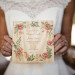 Elegant Wood Wedding Invitation at Anodyne Coffee in Milwaukee, WI thumbnail
