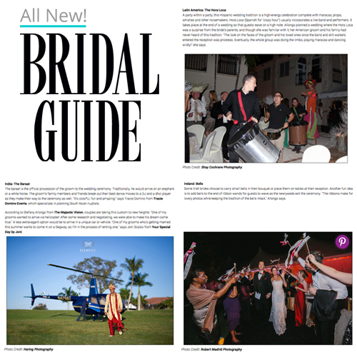 Fun Cultural Traditions to Include in Your Wedding on Bridal Guide | The Majestic Vision Wedding Planning | Palm Beach, FL and Milwaukee, WI | www.themajesticvision.com