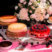 Elegant Cheesecake Dessert Display at The Borland Center in Palm Beach, FL thumbnail
