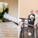 Elegant Bridal Bouquet with White Roses and Hydrangea at The Borland Center in Palm Beach, FL thumbnail