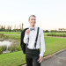 Handsome Groom Portrait on Golf Course at Breakers West in Palm Beach, FL thumbnail