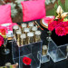 Kate Spade Inspired Modern and Elegant Pink, Gold and Black Glitter Wedding Tablescape at Breakers West in Palm Beach, FL thumbnail