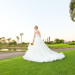 Stunning Bridal Portrait on Golf Course at Breakers West in Palm Beach, FL thumbnail