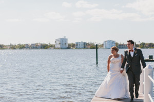 Elegant Waterfont First Look | The Majestic Vision Wedding Planning | Palm Beach Zoo in Palm Beach, FL | www.themajesticvision.com | Robert Madrid Photography