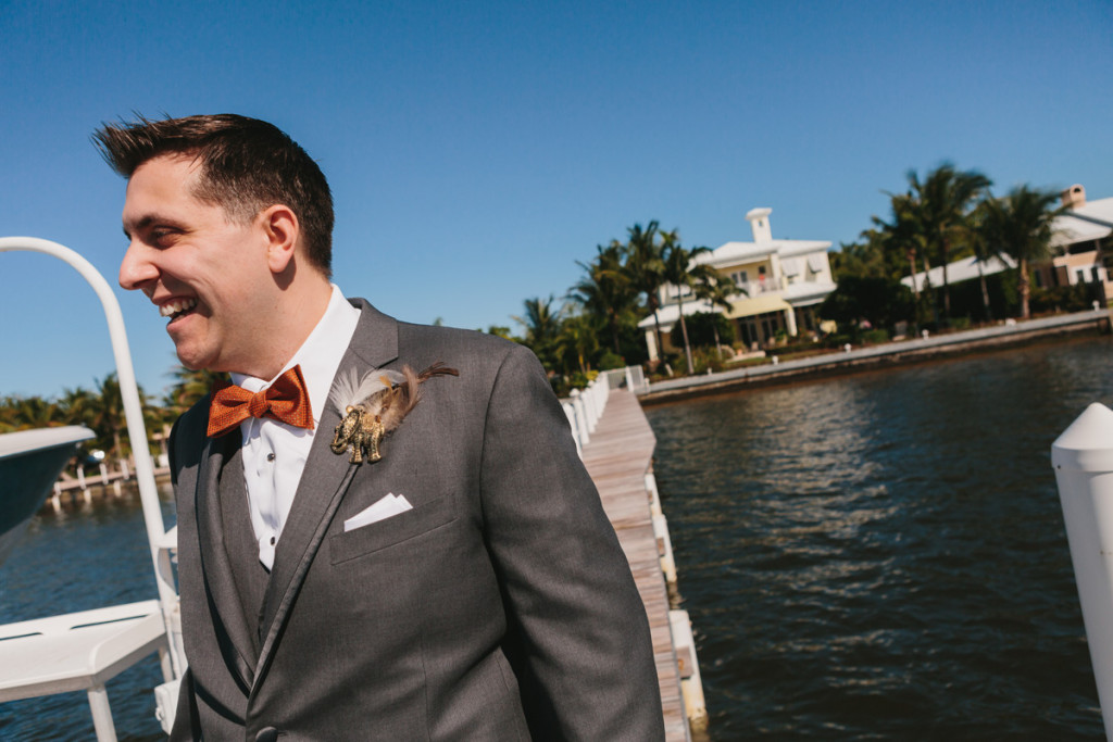 Joyful Groom Portrait | The Majestic Vision Wedding Planning | Palm Beach Zoo in Palm Beach, FL | www.themajesticvision.com | Robert Madrid Photography