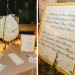 Unique Pinata Guestbook and Elegant Open Seating Reception Sign at Palm Beach Zoo in Palm Beach, FL thumbnail