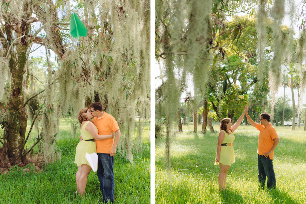 Travel Theme Engagement Session | The Majestic Vision Wedding Planning | Riverbend Park in Palm Beach, FL | www.themajesticvision.com | Robert Madrid Photography
