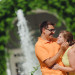 Beautiful Orange and Yellow Engagement Session at Royal Poinciana Chapel in Palm Beach, FL thumbnail