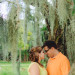 Beautiful Orange and Yellow Engagement Session at Riverbend Park in Palm Beach, FL thumbnail