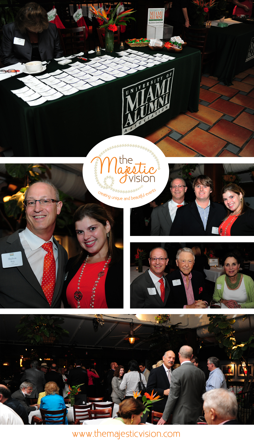 University of Miami Holiday Party with Dean Shelly Berg | The Majestic Vision Wedding Planning | Nick and Johnnie's in Palm Beach, FL | www.themajesticvision.com | Emily Allongo Photography